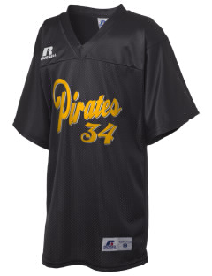 Pittsburg High School Pirates Russell Kid's Replica Football Jersey