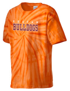 Reagan High School Bulldogs Kid's Tie-Dye T-Shirt