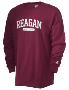 Reagan High School Bulldogs  Russell Men's Long Sleeve T-Shirt