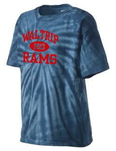 Waltrip High School Rams Kid's Tie-Dye T-Shirt
