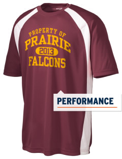 Prairie High School Falcons Men's Dry Zone Colorblock T-Shirt