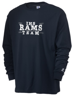 Ingraham High School Rams  Russell Men's Long Sleeve T-Shirt