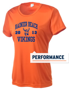 Rainier Beach High School Vikings Women's Competitor Performance T-Shirt
