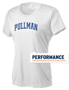 Pullman High School Greyhounds Women's Competitor Performance T-Shirt