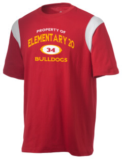 Elementary School 20 Bulldogs Holloway Men's Rush T-Shirt