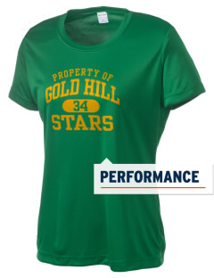 Gold Hill Elementary School Stars Women's Competitor Performance T-Shirt