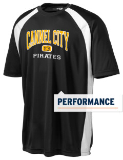 Cannel City Elementary School Pirates Men's Dry Zone Colorblock T-Shirt