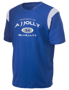 A J Jolly Elementary School Blue Jays Holloway Men's Rush T-Shirt