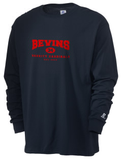 Bevins Elementary School Cardinals  Russell Men's Long Sleeve T-Shirt