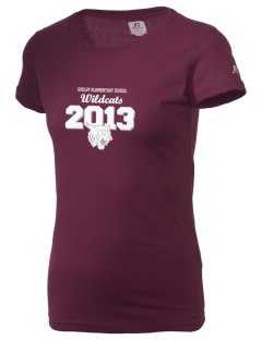 Shelby Elementary School Wildcats  Russell Women's Campus T-Shirt