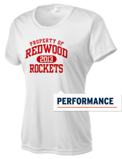 Redwood Elementary School Rockets Women's Competitor Performance T-Shirt
