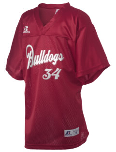 Bakersville Elementary School Bulldogs Russell Kid's Replica Football Jersey