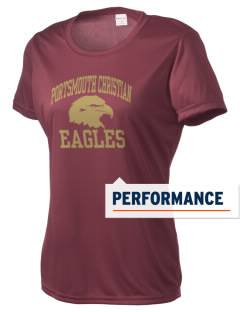 Portsmouth Christian Academy Eagles Women's Competitor Performance T-Shirt
