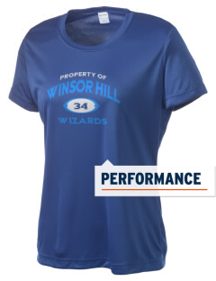 Winsor Hill Elementary School Wizards Women's Competitor Performance T-Shirt