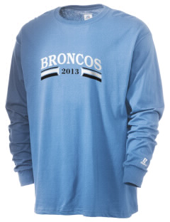 Bridgeport Baptist Academy Broncos  Russell Men's Long Sleeve T-Shirt