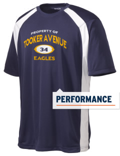 Tooker Avenue Elementary School Eagles Men's Dry Zone Colorblock T-Shirt