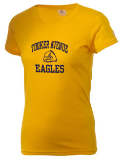 Tooker Avenue Elementary School Eagles  Russell Women's Campus T-Shirt