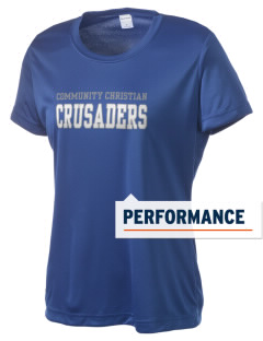 Community Christian School Crusaders Women's Competitor Performance T-Shirt