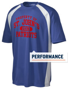 Saint John's Lutheran School Patriots Men's Dry Zone Colorblock T-Shirt