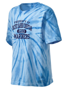 Pacific Harbor Christian School Mariners Kid's Tie-Dye T-Shirt