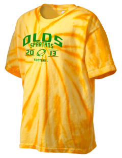 Robert L Olds Junior High School Spartans Kid's Tie-Dye T-Shirt
