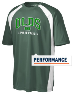 Robert L Olds Junior High School Spartans Men's Dry Zone Colorblock T-Shirt