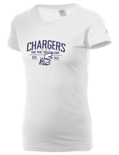 Dana Point Christian School Chargers  Russell Women's Campus T-Shirt