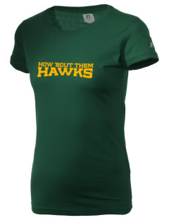 Fairbanks Country Day School Hawks  Russell Women's Campus T-Shirt
