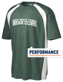 Belmont Elementary School Bear Cubs Men's Dry Zone Colorblock T-Shirt