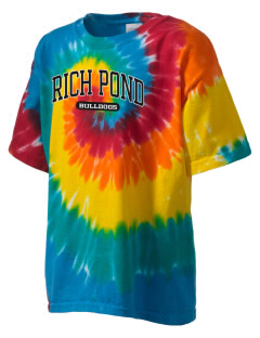 Rich Pond Elementary School Bulldogs Kid's Tie-Dye T-Shirt