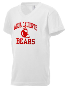 Agua Caliente Elementary School Bears Kid's V-Neck Jersey T-Shirt
