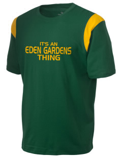 Eden Gardens Elementary School Roadrunners Holloway Men's Rush T-Shirt