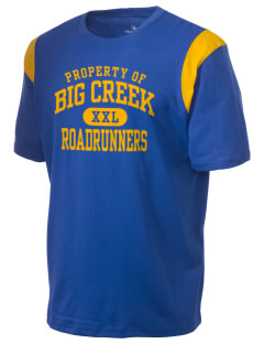 Big Creek Elementary School Roadrunners Holloway Men's Rush T-Shirt