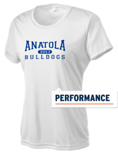 Anatola Elementx1y School Bulldogs Women's Competitor Performance T-Shirt