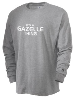 Gazelle Elementary School Indians  Russell Men's Long Sleeve T-Shirt
