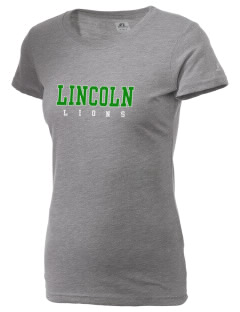 Lincoln Elementary School Lions  Russell Women's Campus T-Shirt