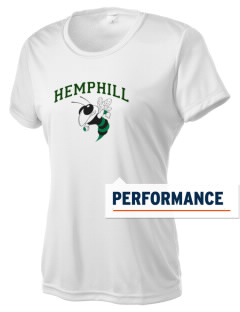 Hemphill High School Hornets Women's Competitor Performance T-Shirt