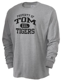 Tom Elementary School Tigers  Russell Men's Long Sleeve T-Shirt