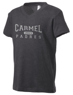 Carmel High School Padres Kid's V-Neck Jersey T-Shirt