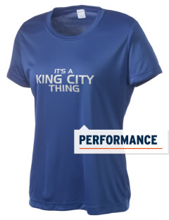 King City High School Mustangs Women's Competitor Performance T-Shirt