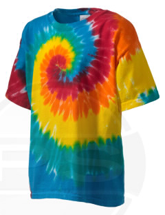 August Boeger Junior High School Bobcats Kid's Tie-Dye T-Shirt