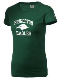 Princeton Elementary School Eagles  Russell Women's Campus T-Shirt