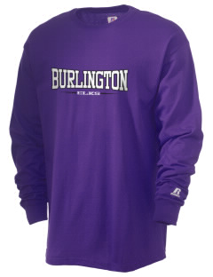 Burlington School Elks  Russell Men's Long Sleeve T-Shirt