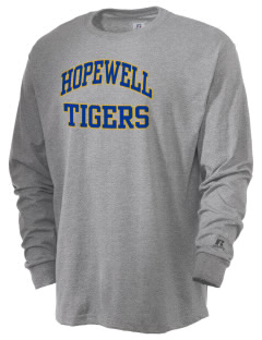 Hopewell Elementary School Tigers  Russell Men's Long Sleeve T-Shirt