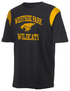 Westside Park Elementary School Wildcats Holloway Men's Rush T-Shirt