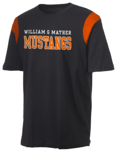 William G Mather Middle School Mustangs Holloway Men's Rush T-Shirt