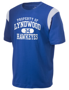 Lyndwood Elementary School Hawkeyes Holloway Men's Rush T-Shirt