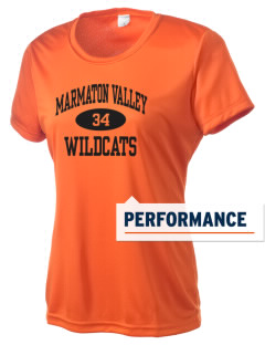 Marmaton Valley High Wildcats Women's Competitor Performance T-Shirt