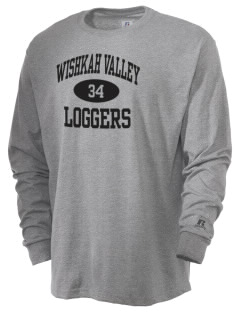 Wishkah Valley School Loggers  Russell Men's Long Sleeve T-Shirt