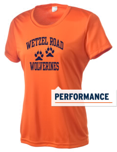 Wetzel Road Elementary School Wolverines Women's Competitor Performance T-Shirt